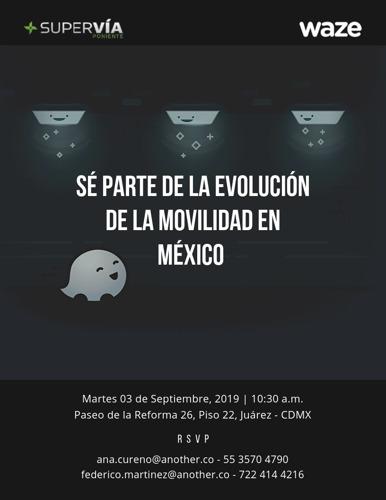 Sé parte de la evolución de la movilidad en México
