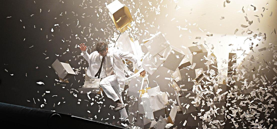 Panasonic va con Fuerza Bruta para su nuevo espectáculo en Japón