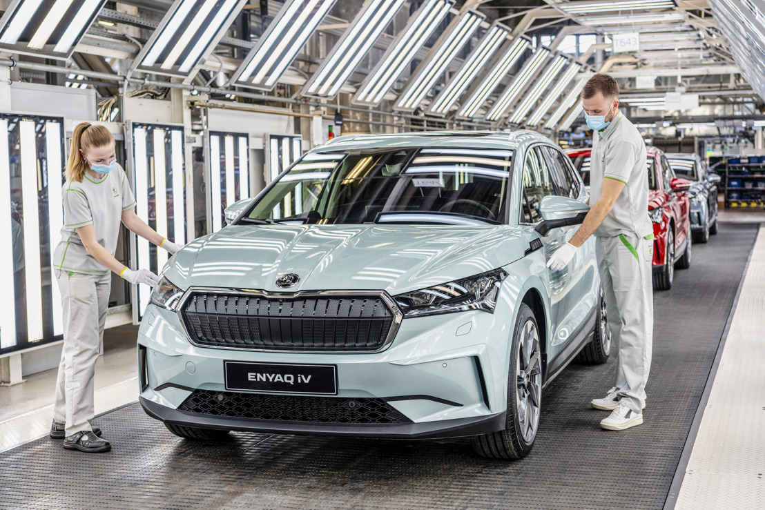 Momentous milestone at ŠKODA AUTO's main plant: 15 million cars from Mladá Boleslav since 1905