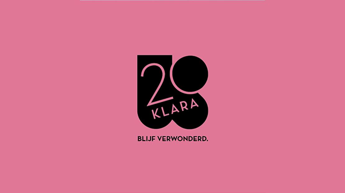20 jaar Klara: bijzondere specials, groots verzoekprogramma en klassiek voor iedereen in een nieuw jasje