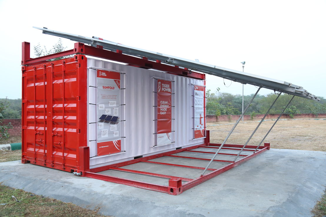 Tiger Power Sunfold®, configuration de test en Inde