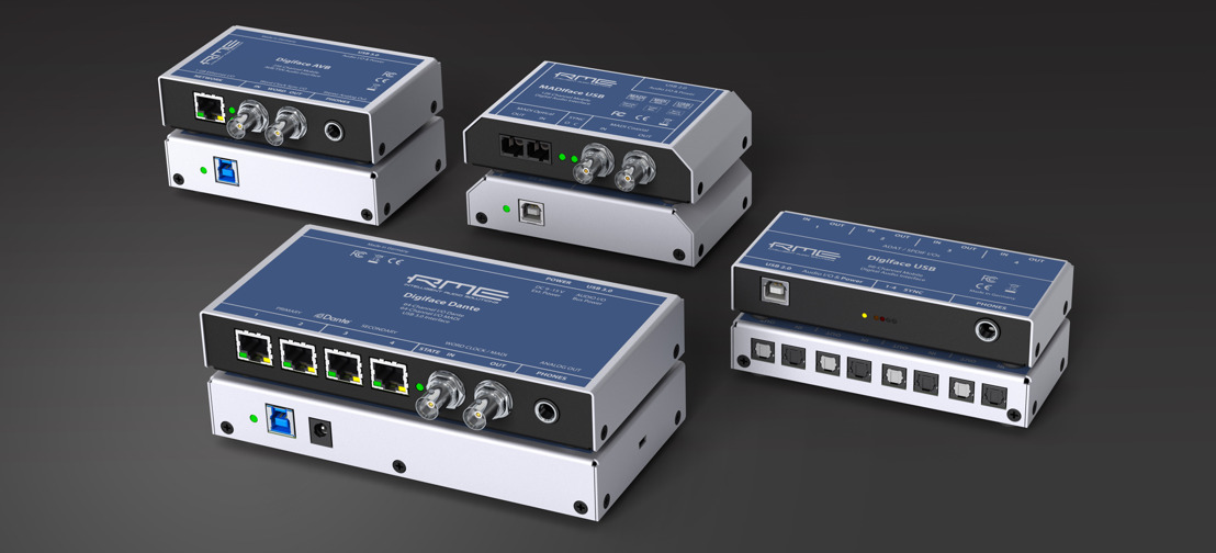 Integration on Your Terms: Synthax to Showcase New RME Digiface Dante, Digiface AVB at InfoComm 2018