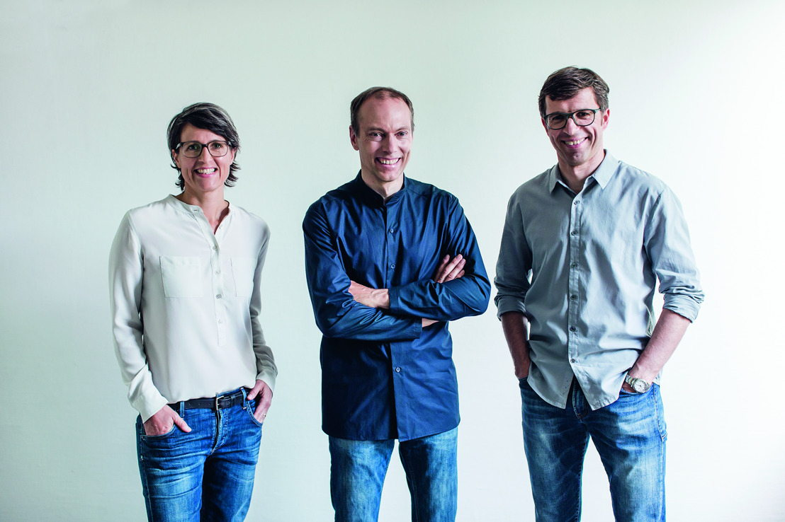 Riese & Müller CEOs (right to left): Dr. Sandra Wolf, Markus Riese, and Heiko Müller.