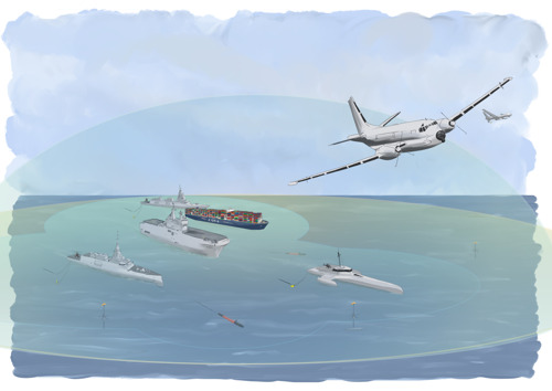 SEANICE, a consortium led by Thales, prepares European Navies for the future underwater threats