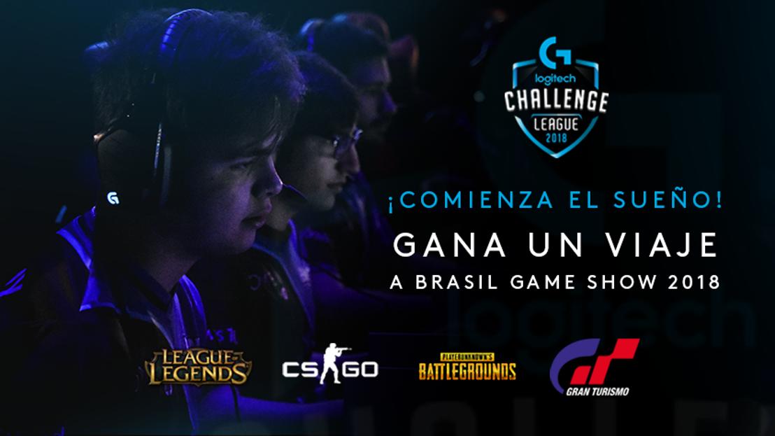 Última semana para inscribirte al Logitech G Challenge y ganar un viaje a Brasil.