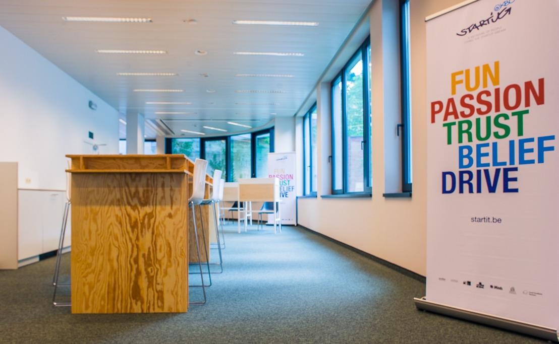 Découvrez les start-ups les plus prometteuses dans les nouveaux bureaux de Start it @kbc