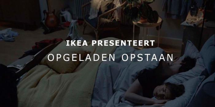 Voor IKEA en DDB begint een goede dag met een goede nacht
