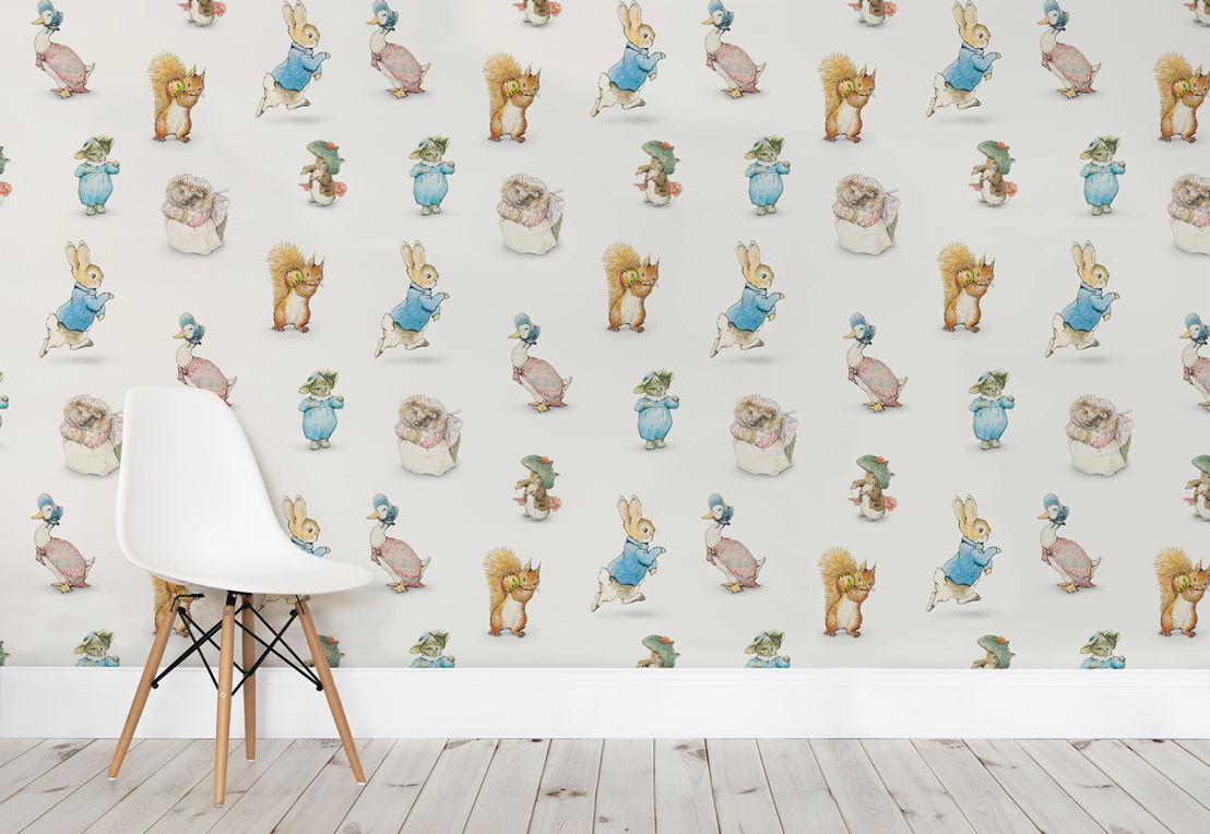Beatrix Potter Wallpaper Mural