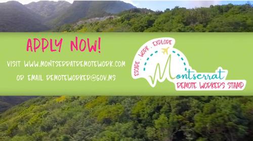 Montserrat Launches Remote Worker Programme