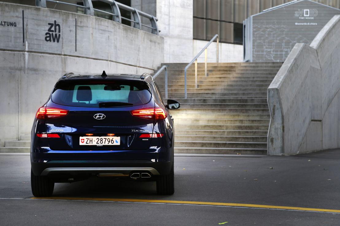 New Hyundai Tucson 48V Mild-Hybrid