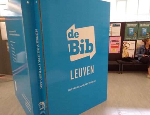 De Bib Leuven Tweebronnen verhuist (tijdelijk)