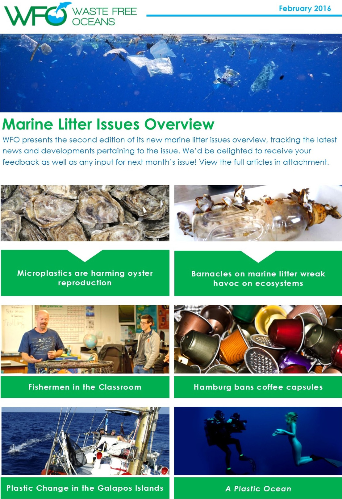 WFO Marine Litter Issues Overview