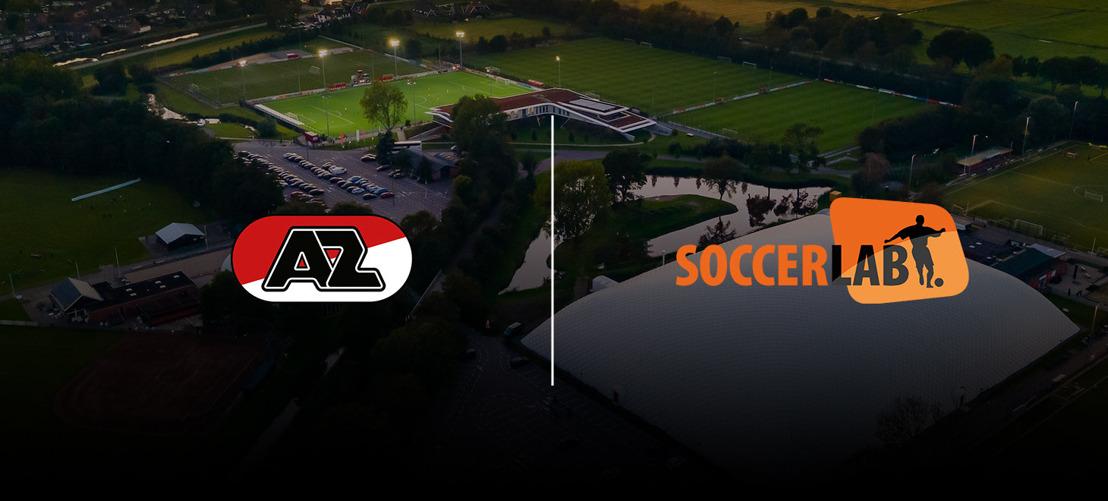 AZ Alkmaar verlengt vijf jaar bij SoccerLAB