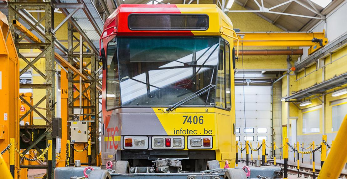 Le TEC Charleroi attribue le contrat de rénovation de 45 tramways à Alstom