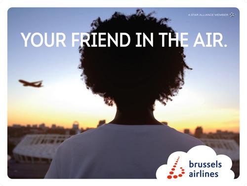 TBWA\Belgium en Brussels Airlines maken vrienden in Afrika