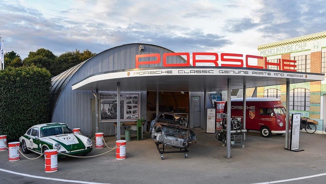 Porsche presente en el vigésimo aniversario del Goodwood Revival