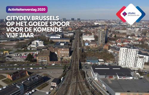 Het activiteitenverslag van citydev.brussels voor 2020 staat online!