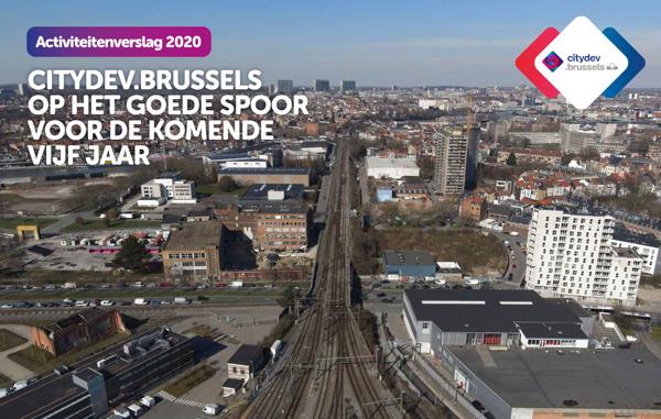 Preview: Het activiteitenverslag van citydev.brussels voor 2020 staat online!