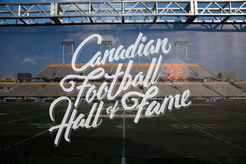PHOTO RELEASE: 2018 CANADIAN FOOTBALL HALL OF FAME INDUCTION CEREMONY