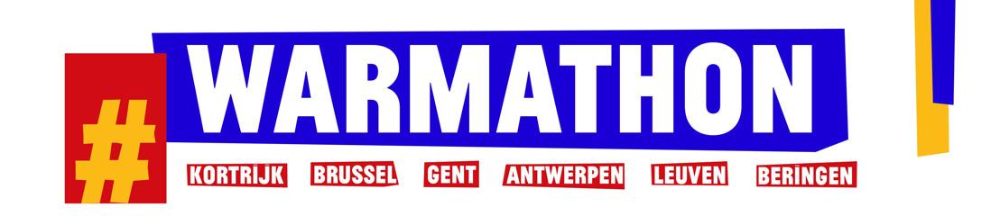 Recordopkomst voor Warmathon: 52 907 lopers geven alles in Kortrijk, Brussel, Gent, Antwerpen, Leuven en Beringen