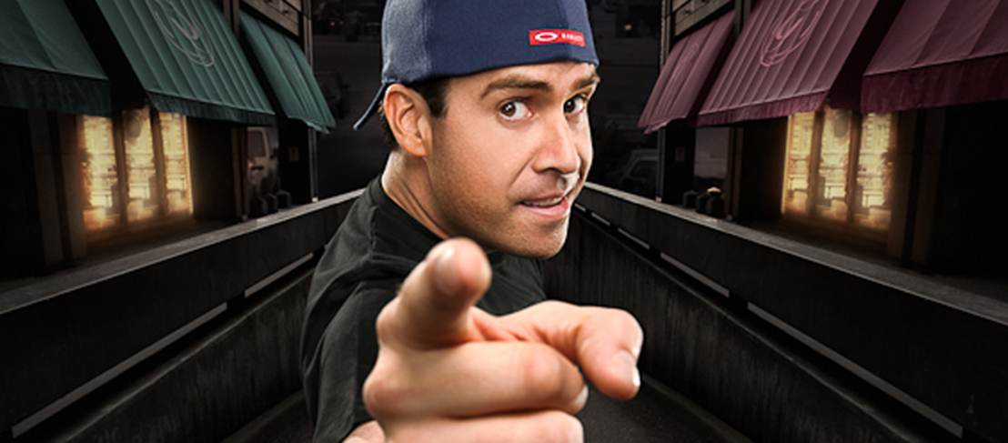 Coming to Belgium in May: American comedian Pablo Francisco