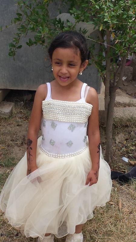 Jood, age 5, killed in the wedding air strike