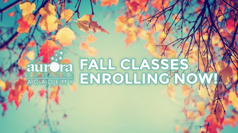 Fall Classes (photo credit Aurora Theatre)