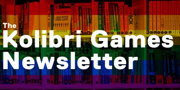 Preview: The Kolibri Games Newsletter