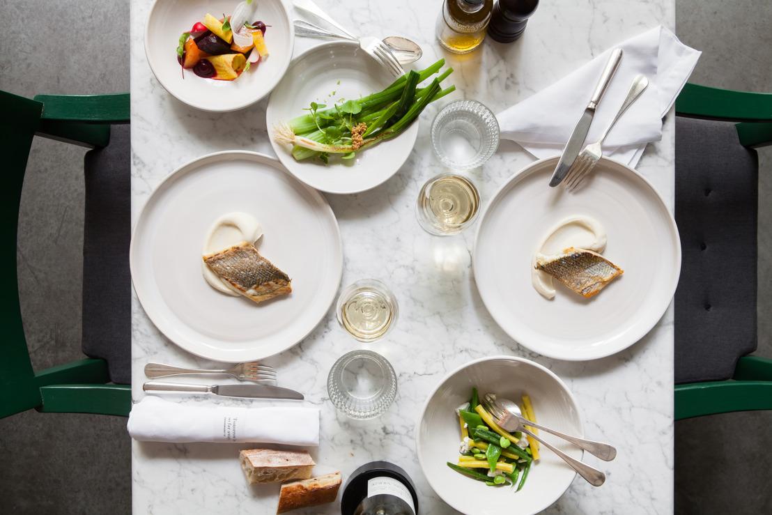 Graanmarkt 13 en Grain Store organizeren 'four-hands dinner' met chef-koks Seppe Nobels en Bruno Loubet