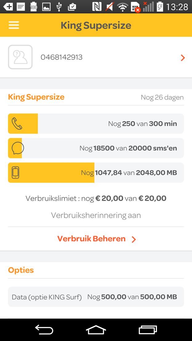 Telenet Mobile app