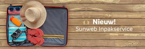 Sunweb lanceert de Sunweb Inpakservice