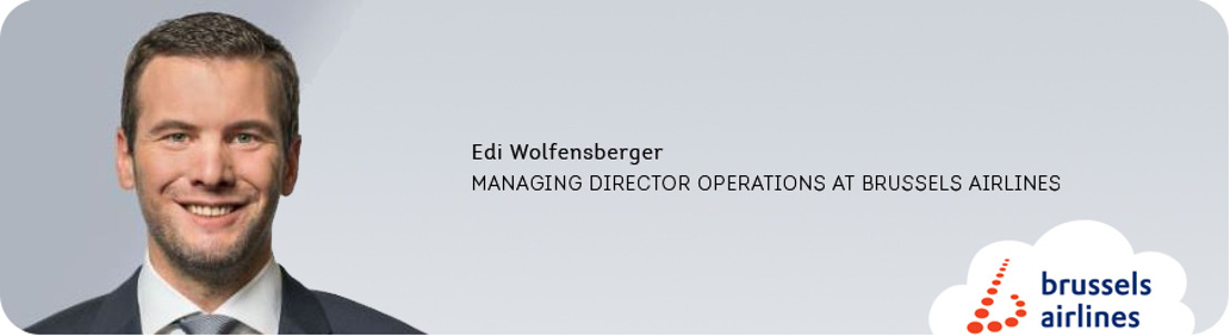Edi Wolfensberger, nieuwe Managing Director Operations bij Brussels Airlines