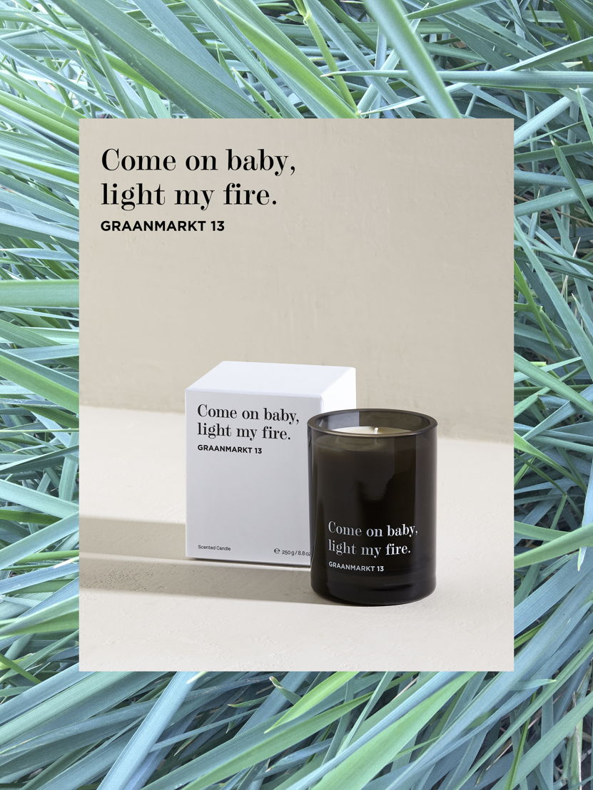 Graanmarkt 13 - The Scented Candle - 85 euro © Frederik Vercruysse