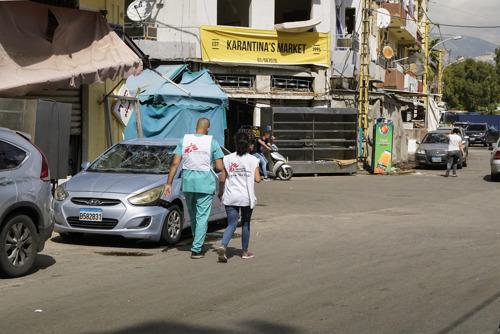 Ontploffing in Beiroet: AZG biedt hulp in de meest getroffen buurten