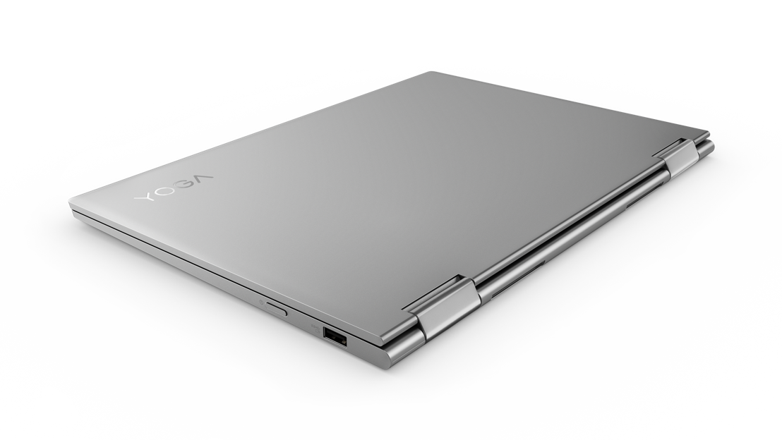 13-inch Lenovo Yoga 730 in Platinum