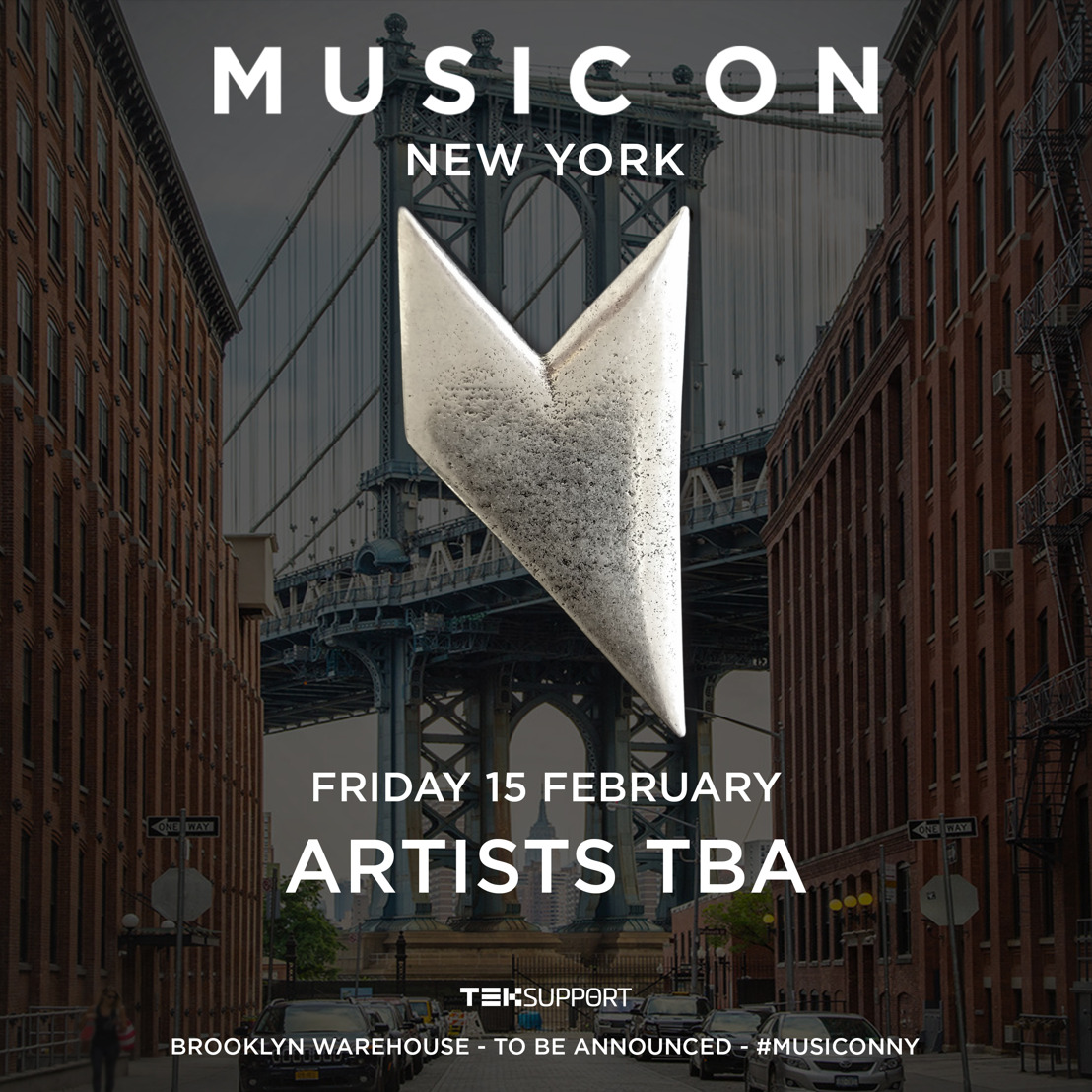Teksupport Announces Return of Marco Carola's Music On to New York City