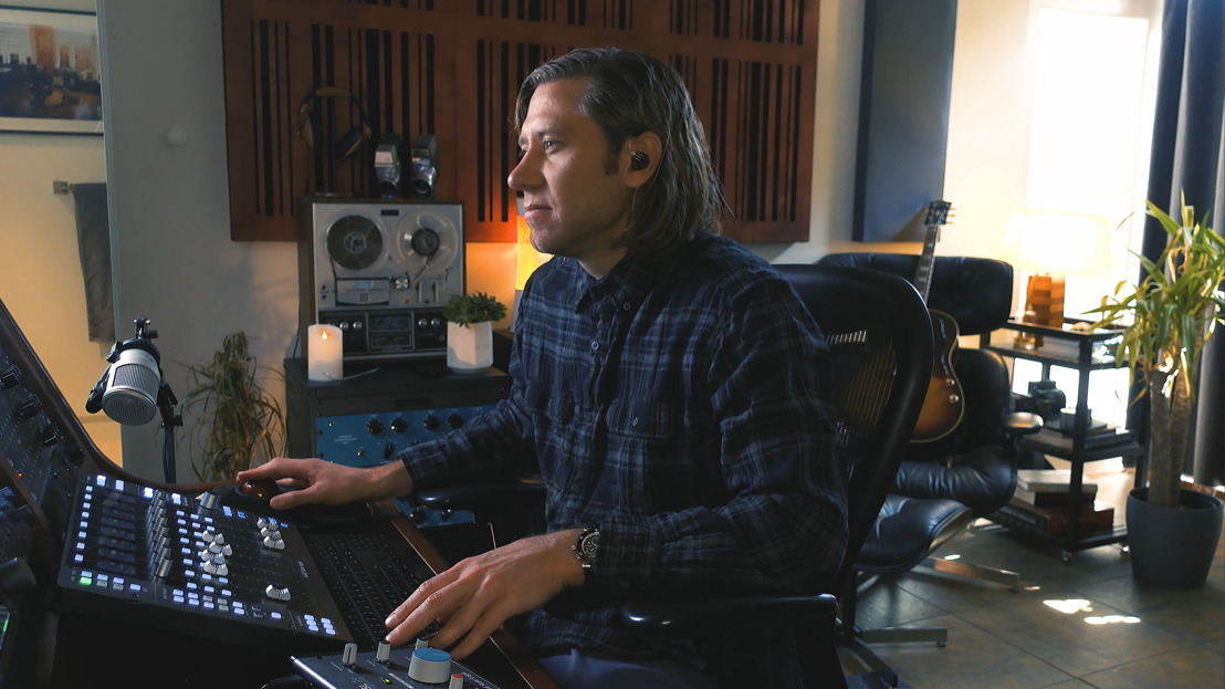 WATCH: Marc Daniel Nelson Adding Emotion to a Mix with Solid State Logic UF8 Controller