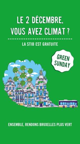 Le réseau STIB gratuit le dimanche 2/12 pour la marche pour le climat