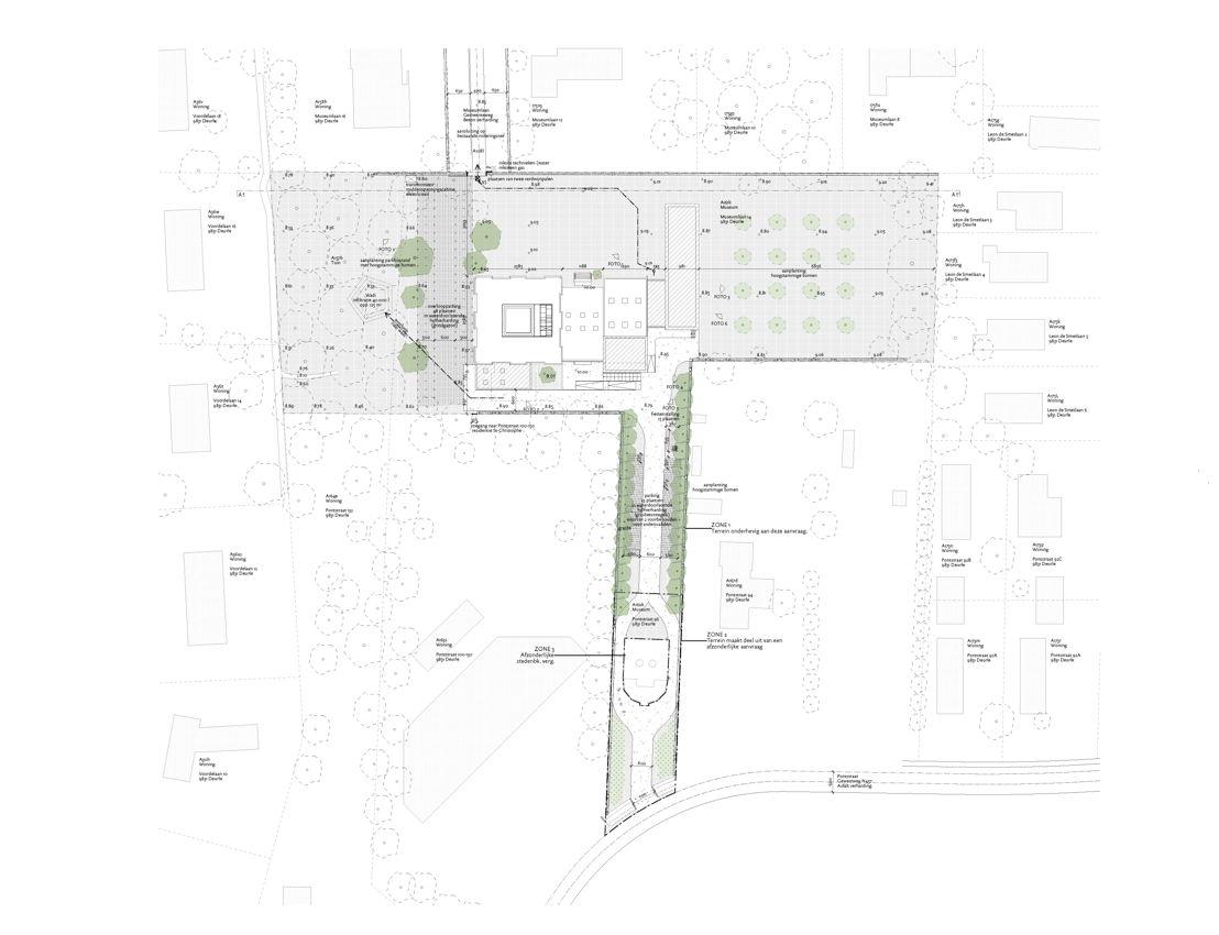 Plannen Nieuwbouw MDD Robbrecht en Daem Architecten