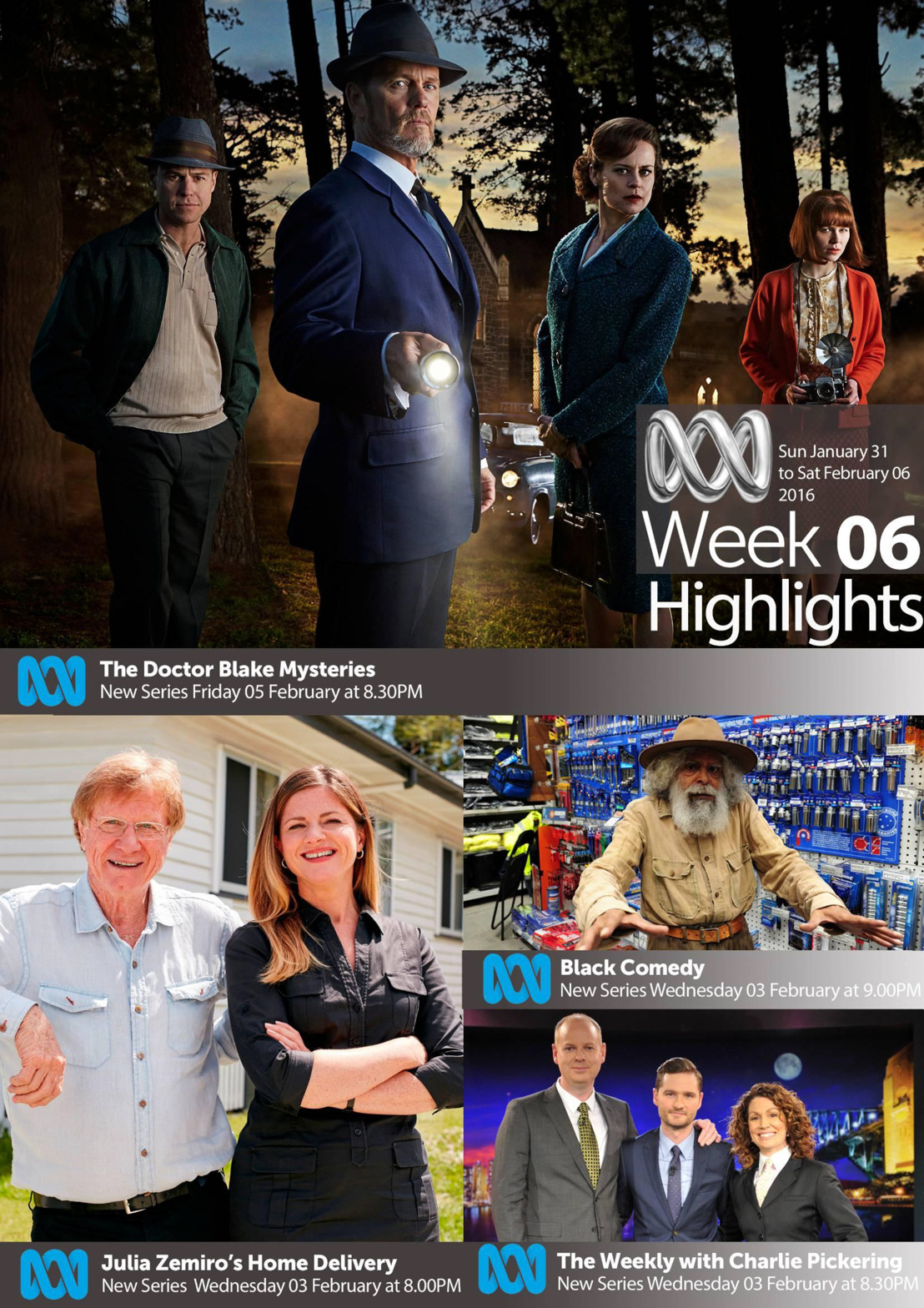 ABC TV Highlights Week 6