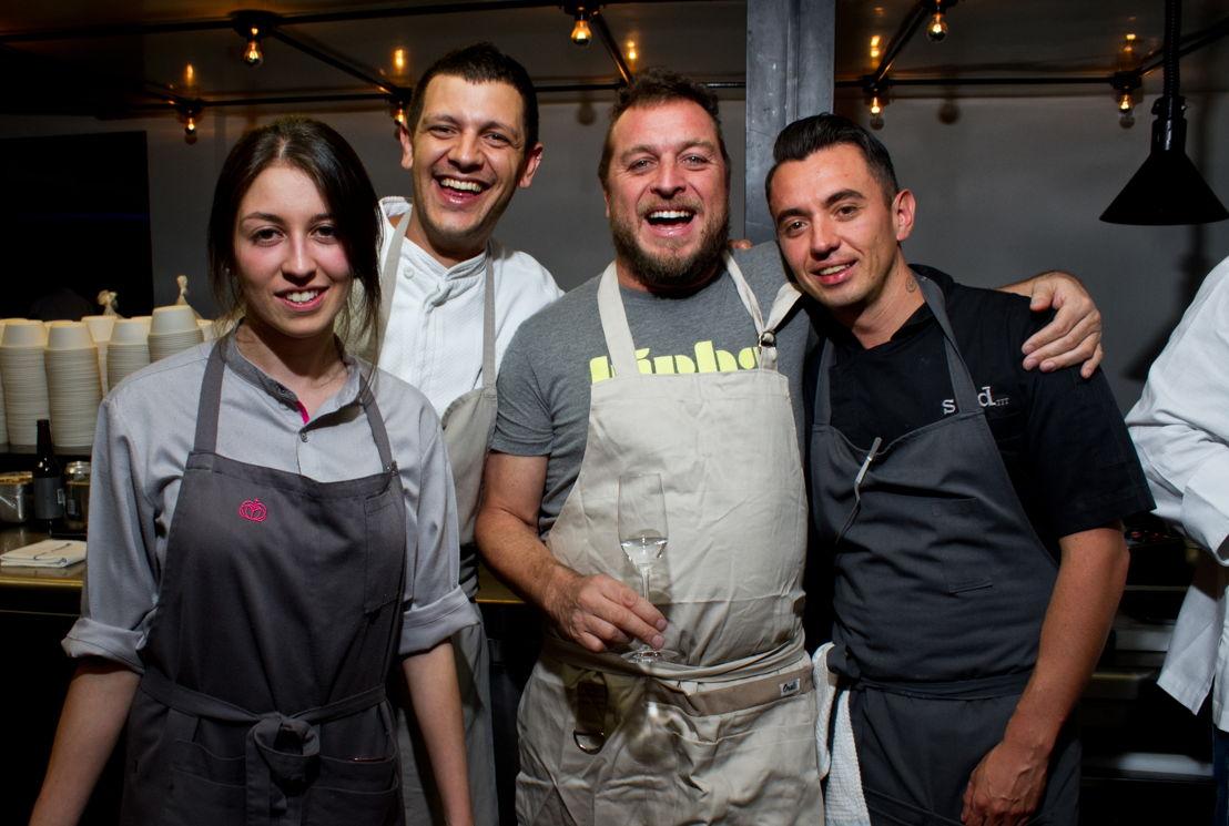 Chef Sofía, Chef Matteo, Chef Jair y Chef Edgar
