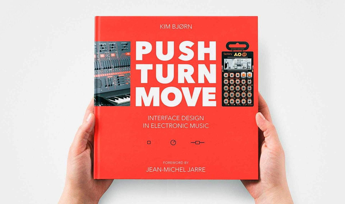 PUSH TURN MOVE explores the different ways that electronic music instrument manufacturers have solved the challenges of visualizing and controlling sound.