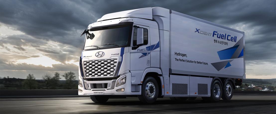 Hyundai Motor migliora il design e le prestazioni del camion a celle a combustibile XCIENT per la sua espansione globale
