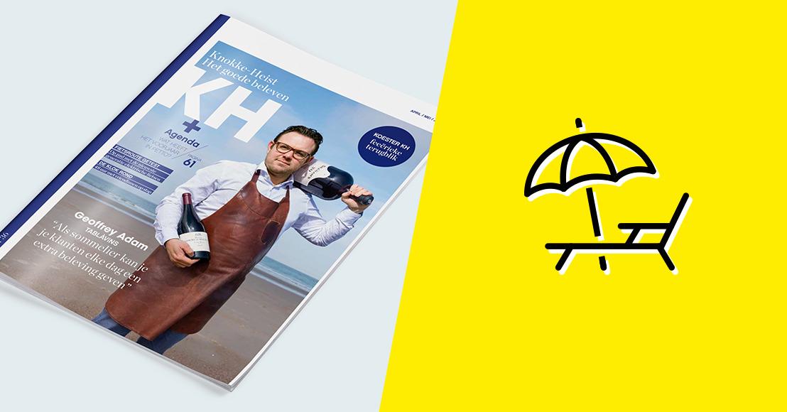 HeadOffice gives Knokke-Heist magazine KH a new experience