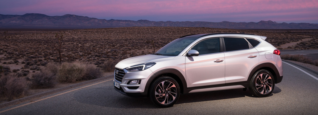 De New Hyundai Tucson viert wereldwijd debuut op de New York International Auto Show