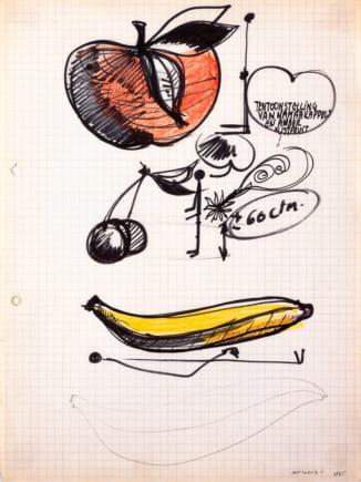 ® SABAM, Belgium. Jef Geys, Zonder titel, 1965. Foto Philippe Debeerst
