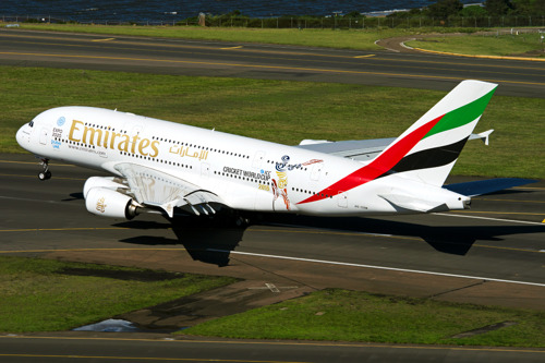 Emirates Connects the World to the ICC Cricket World Cup 2015