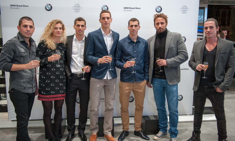 BMW Friends - Opening BMW BRand Store Brussels