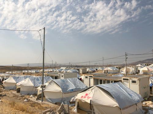 Irak : À la frontière avec la Syrie, MSF démarre des activités médicales pour les populations fuyant le conflit