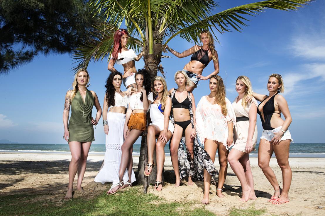 Fotomateriaal: de 10 vrouwelijke vrijgezellen van Temptation Island